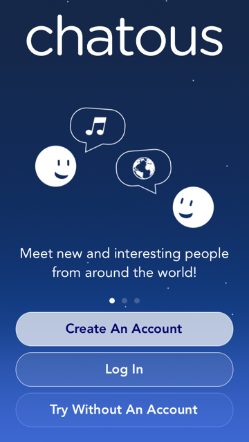 How do I Create an Account? – Chatous